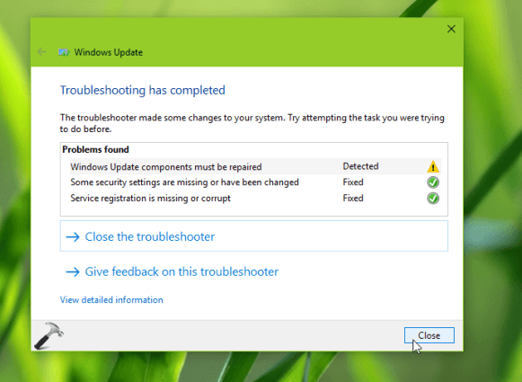 Resolved: Windows Update Components Must Be Repaired