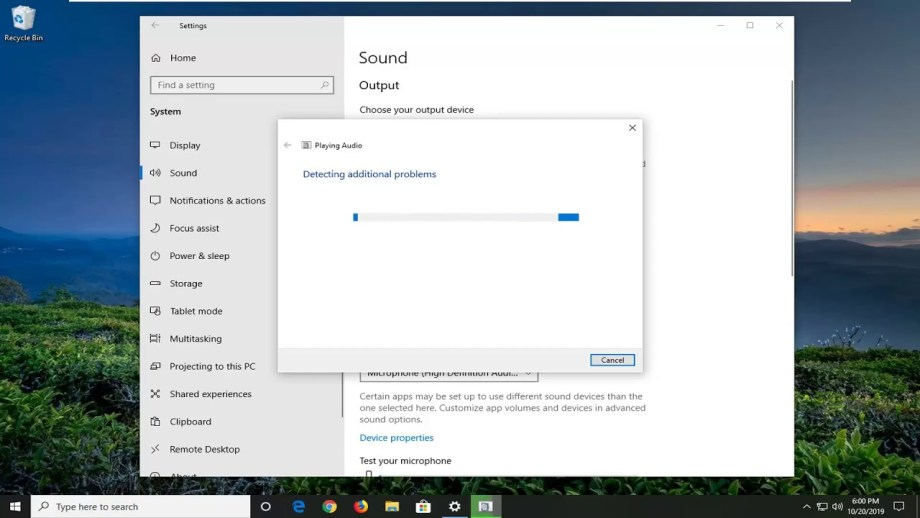 "How to Fix ""Failed to play test tone"" error on Windows 10"