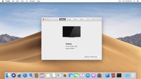 Fix: Mac Mojave Get Full Screen in VM Workstation