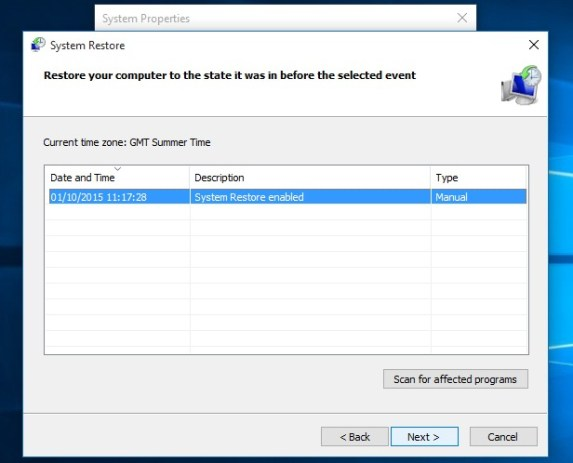 How to use System Restore on Windows 10 - Complete Process
