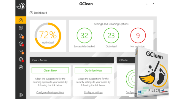 You can download Abelssoft GClean 2021 for free