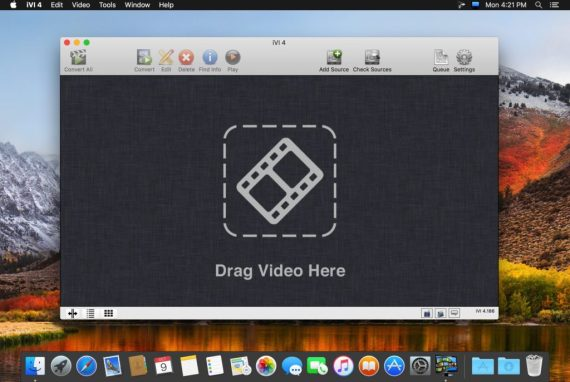 You can download iVI Video Converter 4 for Mac free