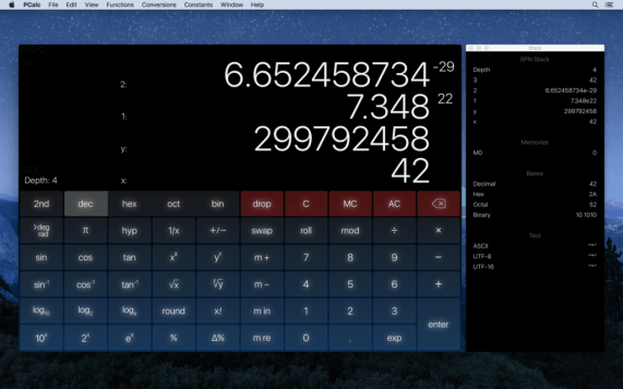 PCalc 4 for Mac Download Free 1