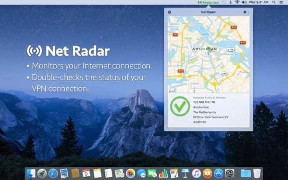 Where can you download Net Radar for Mac