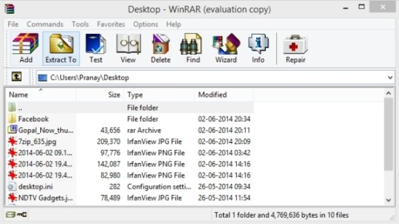 You can download RAR Extractor Max 5 for Windows