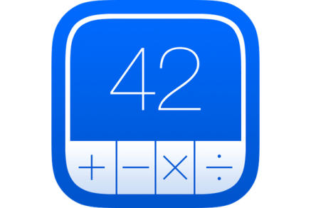 You can download PCalc 4 for Mac