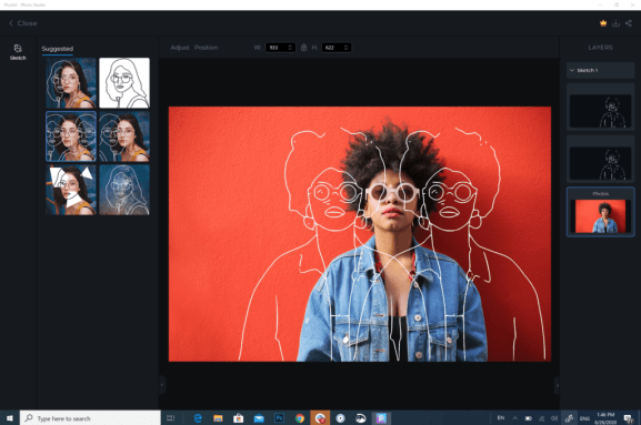 You can download PicsArt for Windows