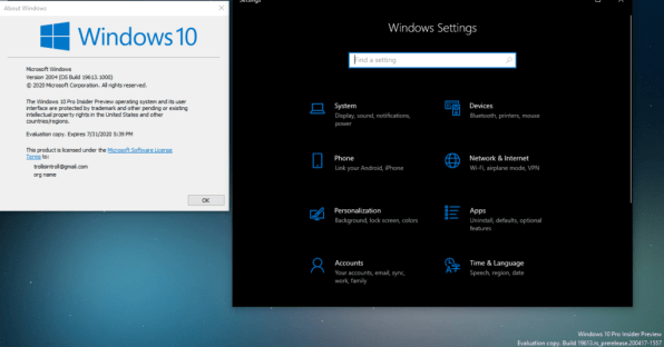 Guide: Disable Settings Header Banner in Windows 10