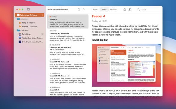 How to download Feeder 4 Free for Mac