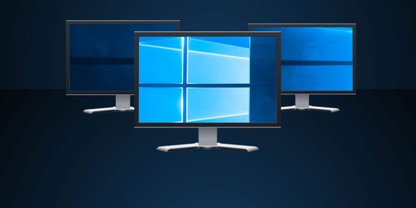 How to use multiple monitors in Windows 10