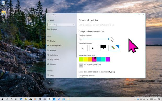 How to change the cursor on your Windows 10 computer