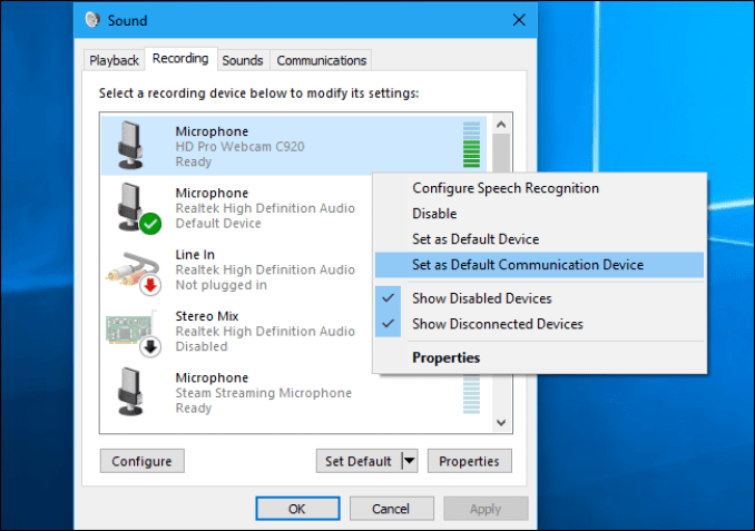 How to manage Windows 10 microphone settings