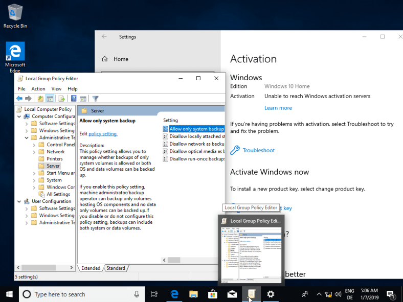 How To Enable Gpedit.msc In Windows 10 Home Edition