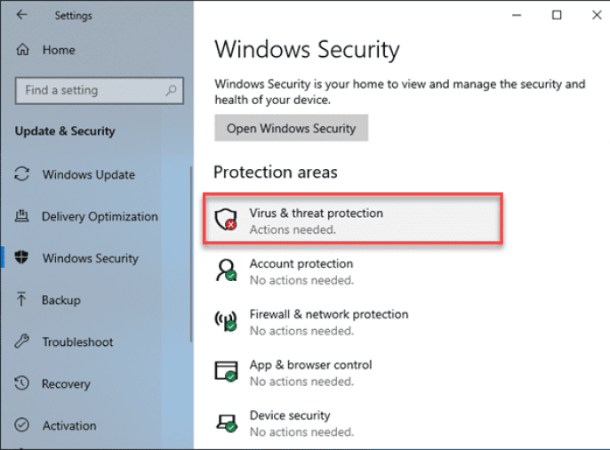 How to turn off cloud based protection in Windows Defender