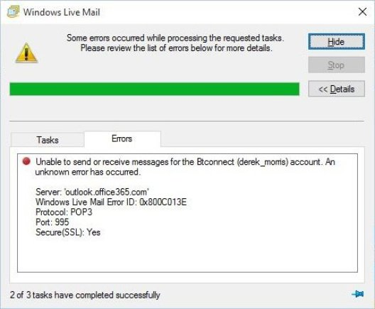 Solved - Windows Live Mail not working on Windows 10 2