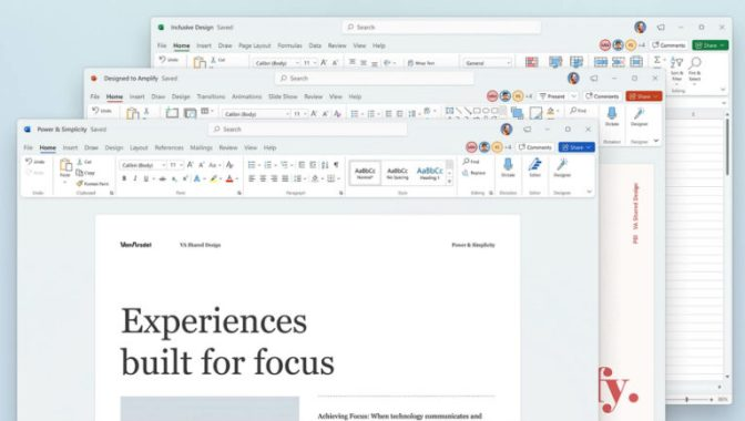 Microsoft Office to be Redesigned in Windows 10 and Windows 11 2