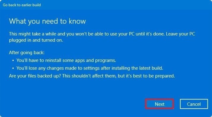 How you can go back to Windows 10 - Complete Guide 1