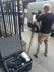 Isosec and North Star Digital filming at Imperial