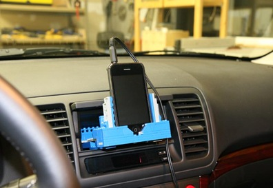 car iphone mount cool stuff lego iphone car mount isource 9714