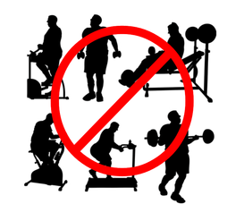 ISO Walking let you do not exercise at an extra time