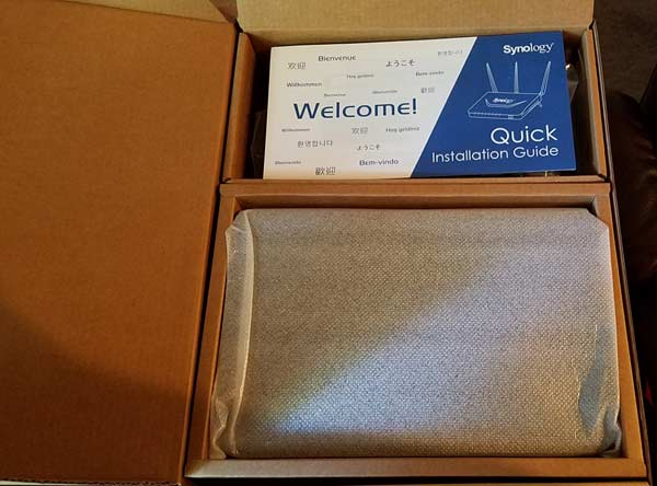 Inside the Synology Router Box