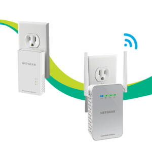 Netgear PLW1010-Essentials-Edition Powerline WiFi Extender