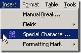 Symbol OpenOffice