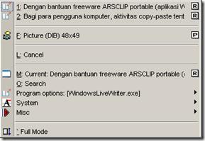 ArsClip Copy List