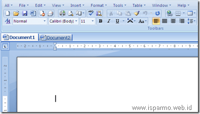 OfficeTab Microsoft Word