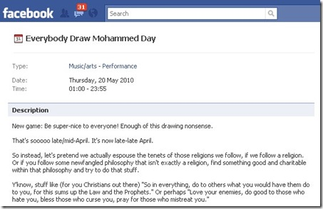 Boikot Hari Menggambar Nabi Muhammad