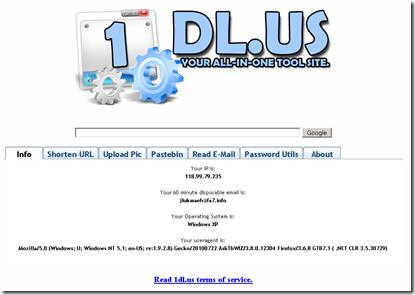 1dl.us Layanan Online Multifungsi