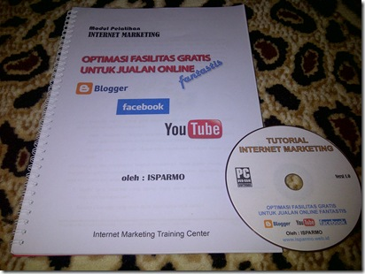 Modul dan DVD Internet Marketing