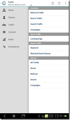 Google Analytics clients Android