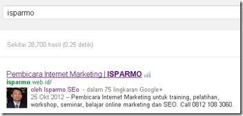 Isparmo Rich Snippets