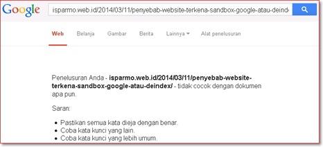 Mengapa posting lama terindex Google