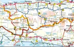 peta jalur mudik lebaran