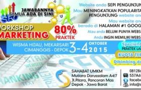 kursus pelatihan internet marketing dan seo Depok Oktober 2015