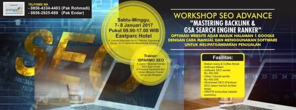 Pelatihan SEO lanjutan GSA Search Engine Ranker di Jogjakarta