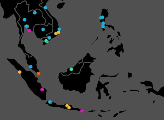 Peta Penyebaran Virus Wannacry