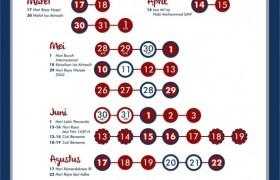 kalender jadwal libur nasional cuti bersama 2018