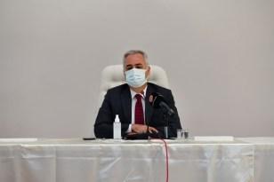 """Isparta Valisi Seymenoğlu: """"Temennimiz bir an önce kontrollü de olsa normale dönebilmek"""""""
