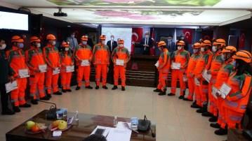 Isparta Belediyesi, afet olaylarına anında müdahale için arama ve kurtarma ekibi kurdu