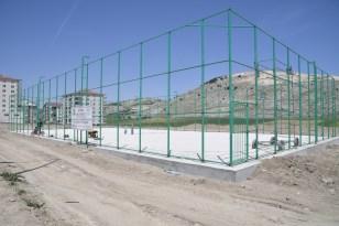 Isparta'da 16 semt spor sahası inşa ediliyor