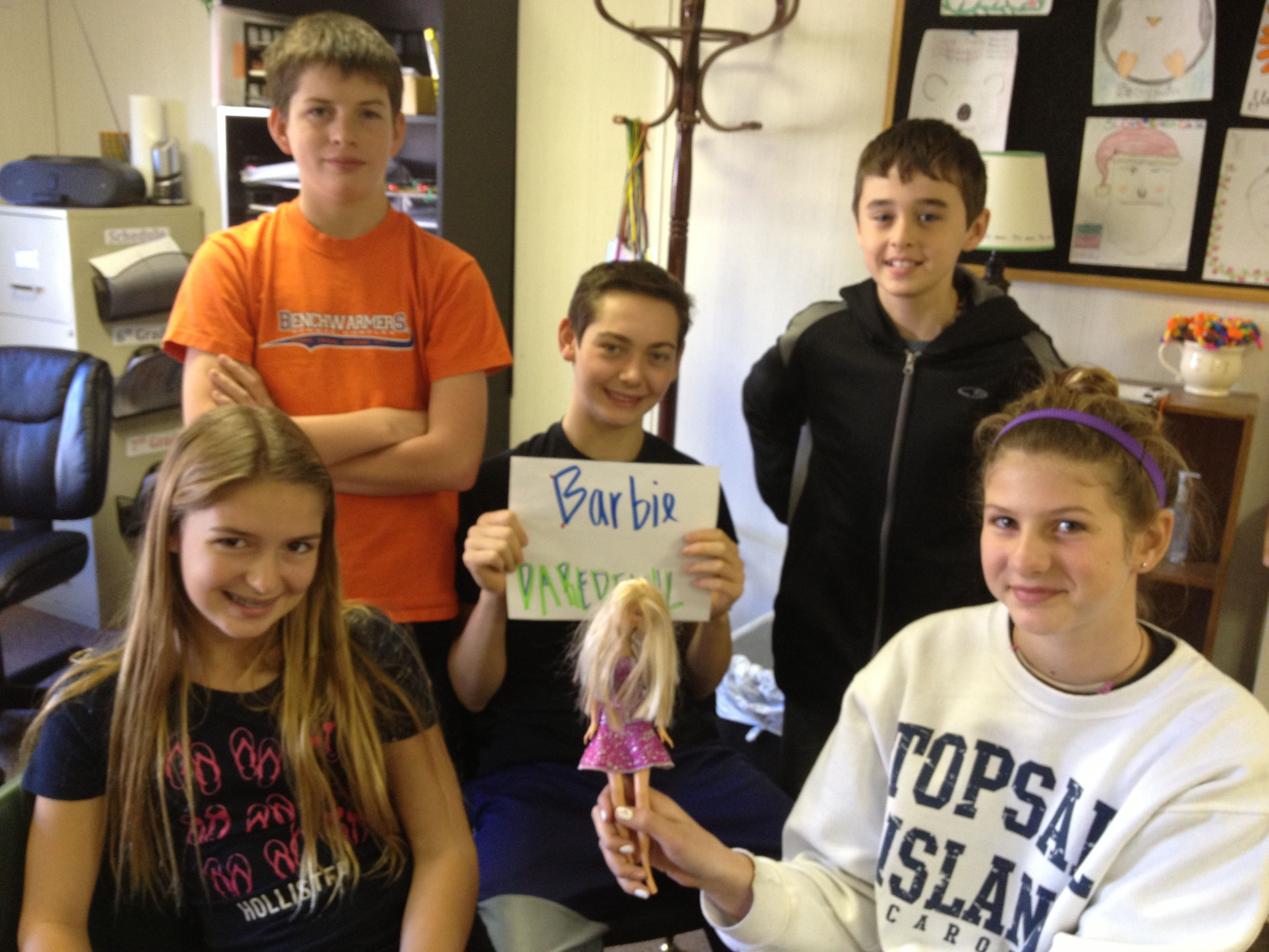 Introducing Linear Equations With Barbie Bungee