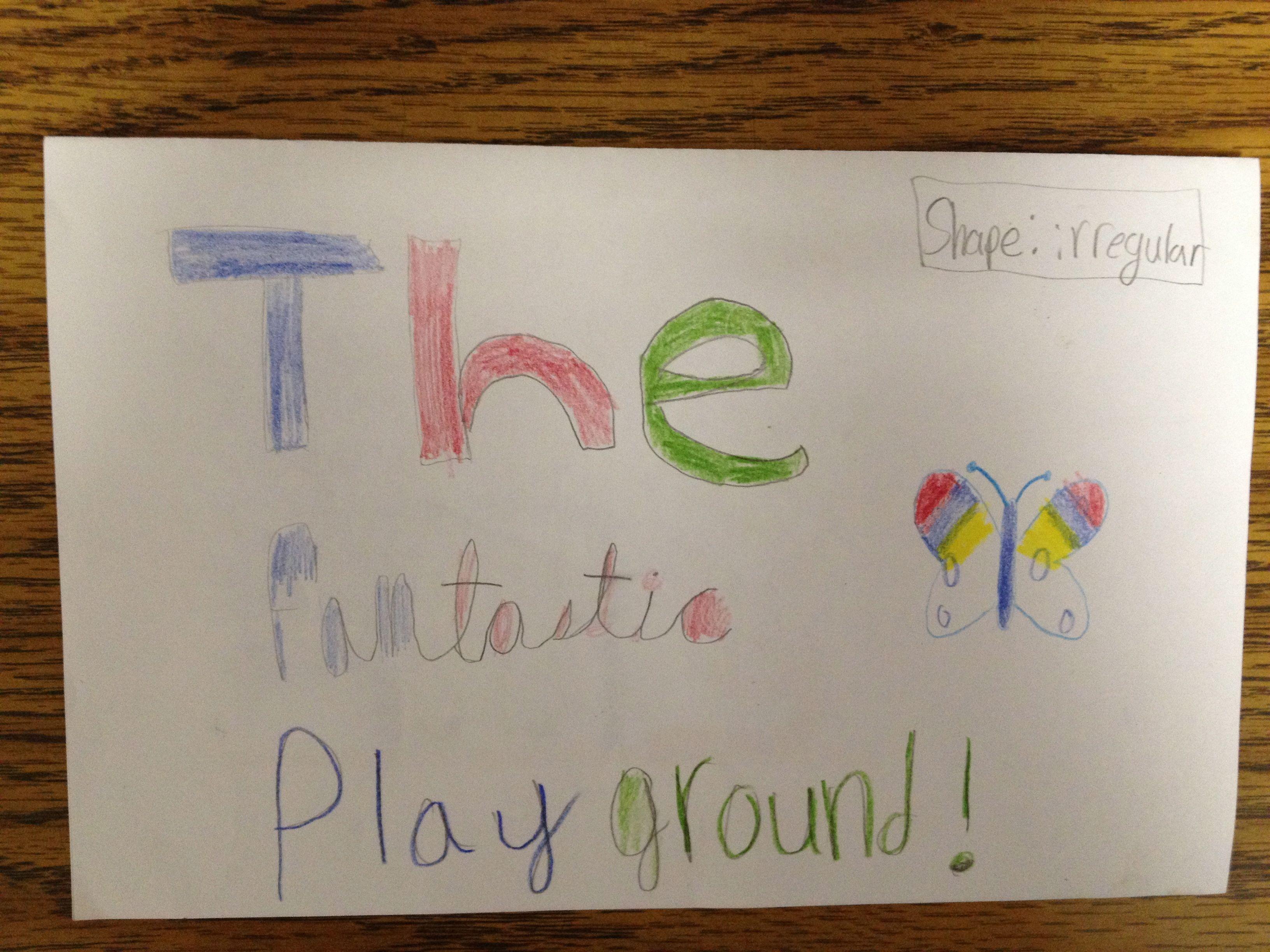 Student Created Math Hunt Of Area Of Irregular Shapes
