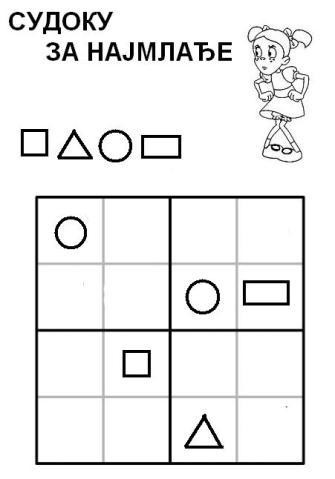 Sudoku devojcica