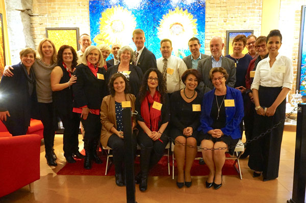 ISPI volunteers and staff get together for a photo shoot in 2016.