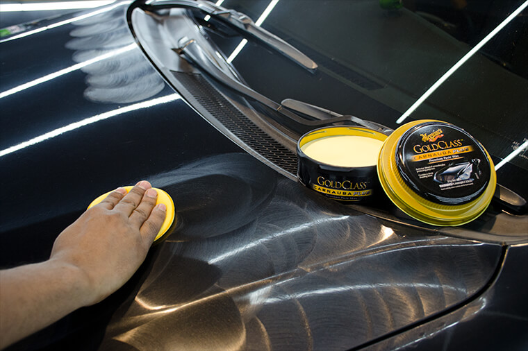Car Wax Application by Hand Buff