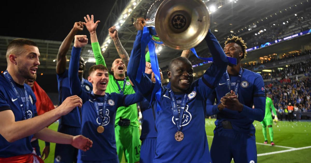1, 29 мая 2021, лига чемпионов. Канте признан лучшим игроком финала Лиги чемпионов - iSport.ua
