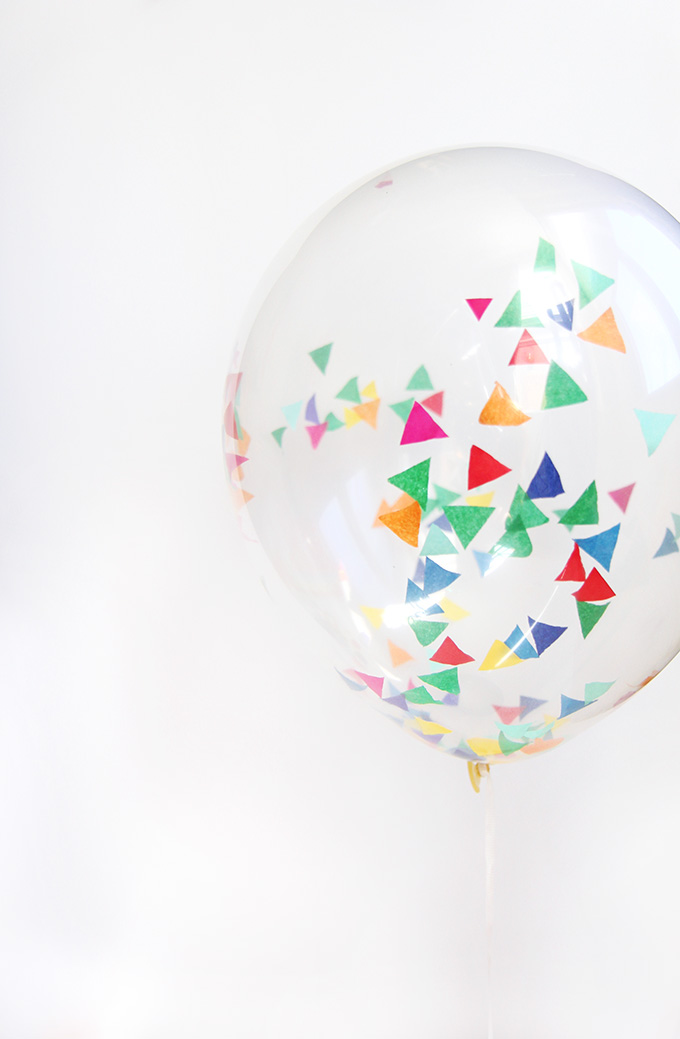 187 My Diy Confetti Balloons